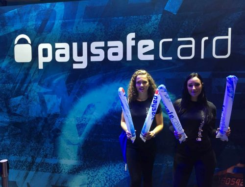 CHEERSTICKS FOR PAYSAFECARD – LOGO, QR CODE AND SOCIAL MEDIA ICONS