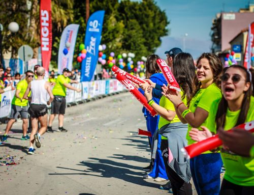 ARENASTICKS AT RUNNING EVENTS IN GREECE
